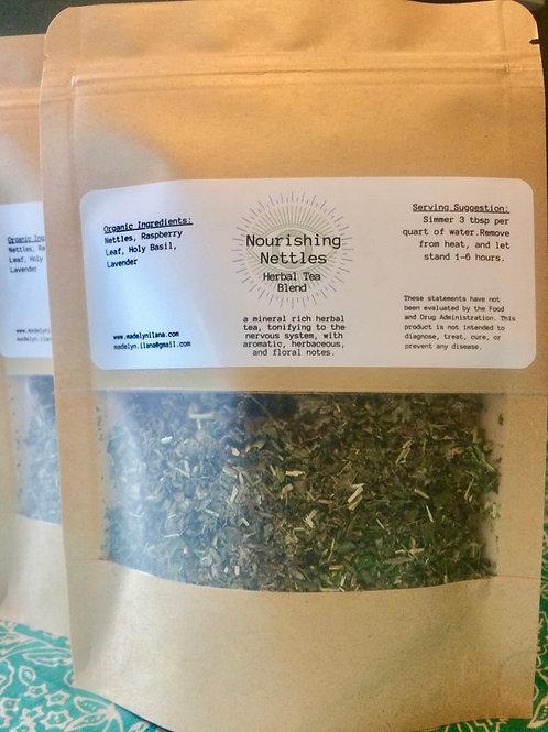 Nourishing Nettles herbal tea blend