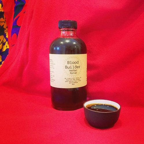 Blood Builder herbal syrup