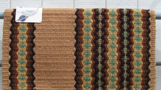 Tan and Sage Show Blanket