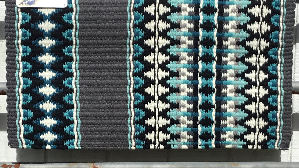 Aqua Arrow Show Blanket