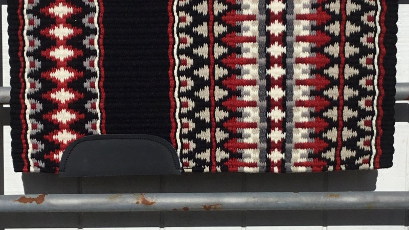 Ash Gray and Show Red Show Blanket 14312
