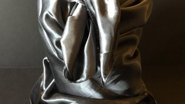 Charcoal Gray Wild Rag