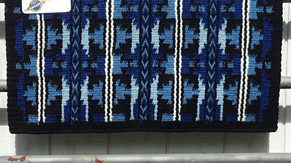Royal Blue and Periwinkle Show Blanket