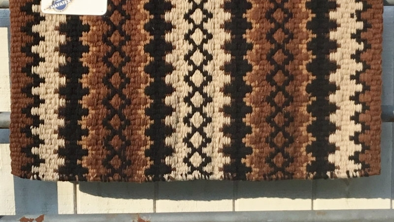 Brown and Tan Show Blanket 1441-3