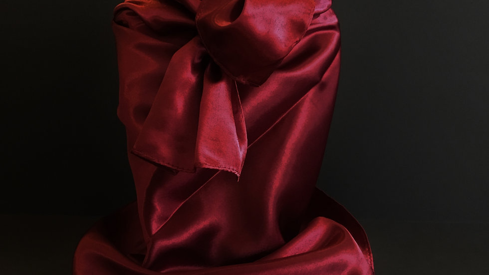 Tibetan Red Wild Rag