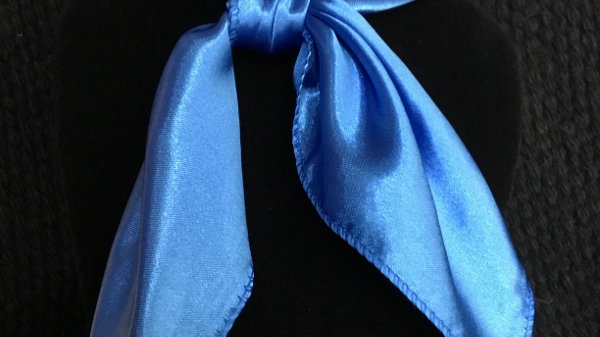 Royal Blue Show Scarf