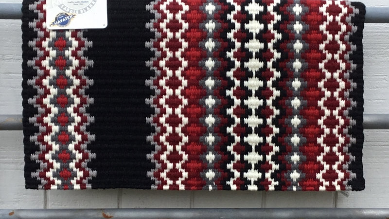 Red and Gray Show Blanket 1458-5