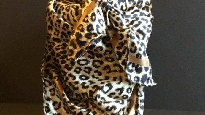 Leopard and Gold Wild Rag