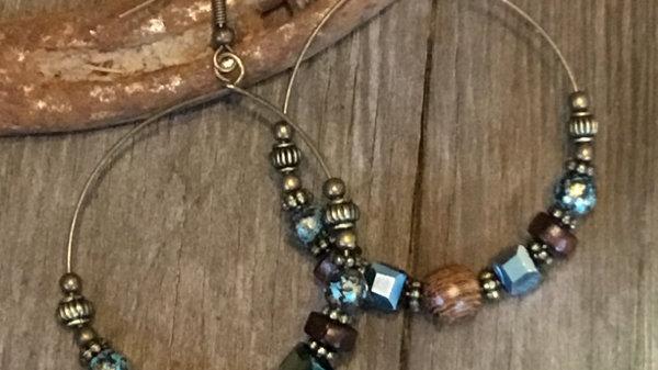 Western Beaded Earrings