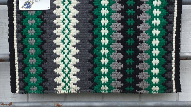 Kelly Green Show Blanket