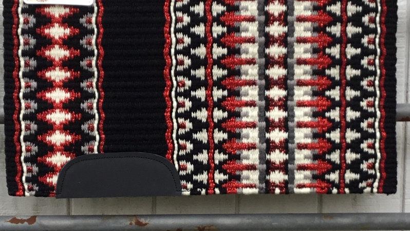 Metallic Red Arrow Show Blanket 241113