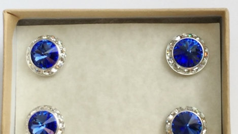 Sapphire Magnetic Show Number Set