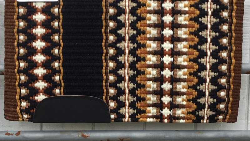 Gold and Rust Show Blanket 2317