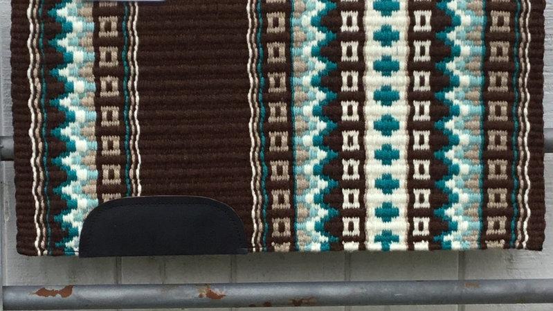 Teal and Aqua Show Blanket 71113
