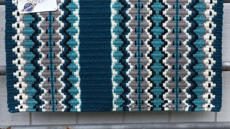 Ocean Blue Show Blanket 1459-2