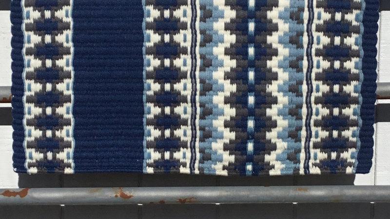Slate Blue Show Blanket