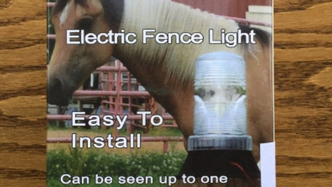 Electric Fence Light