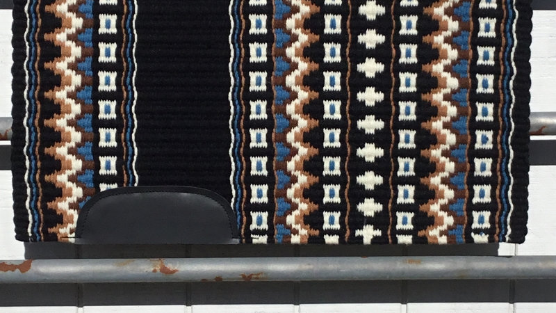 Black and Blue Show Blanket 15312