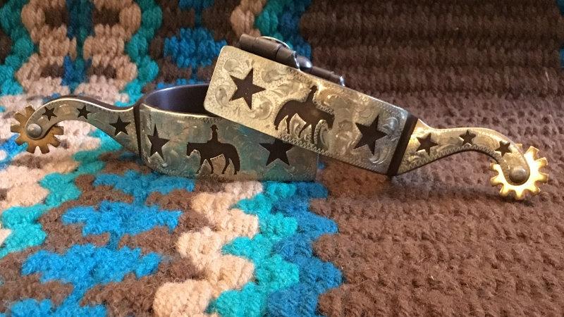 Horse & Star Show Spurs