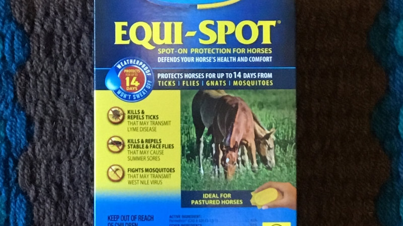 EQUI-SPOT™ Spot-On Protection for Horses