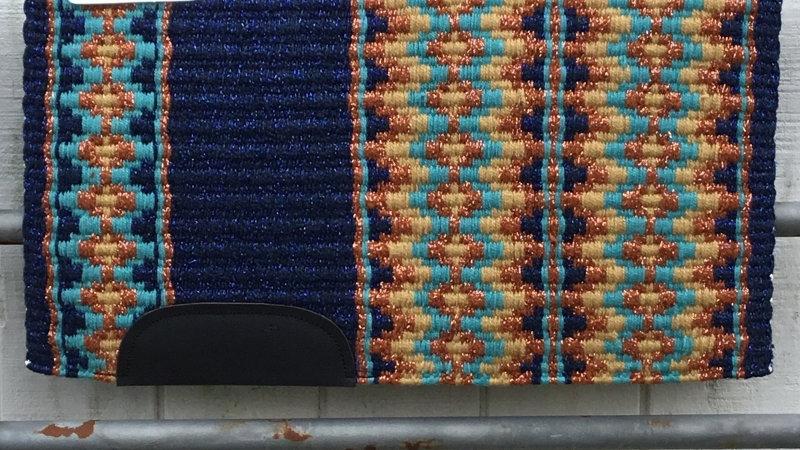 Metallic Royal Blue Show Blanket 41113