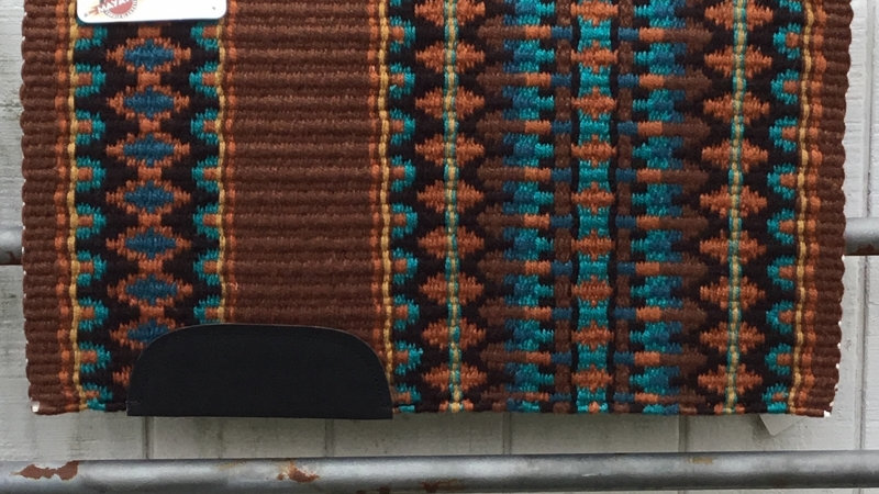 Brown and Rust Show Blanket 211113