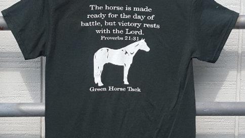 Green Horse Tack T-Shirt