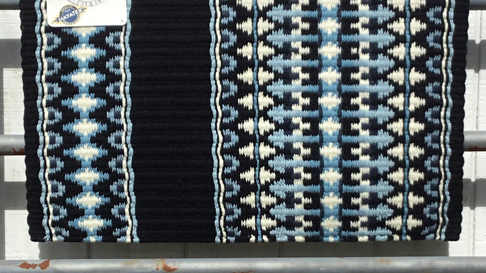 Light Blue Arrow Show Blanket
