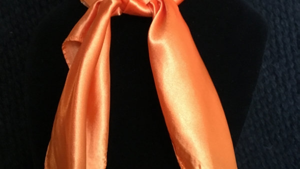 Tangerine Show Scarf