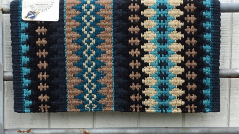 Blue and Sand Show Blanket 1455-14