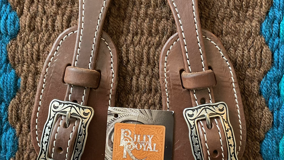 CBilly Royal® Oiled Herman Oak Spur Straps
