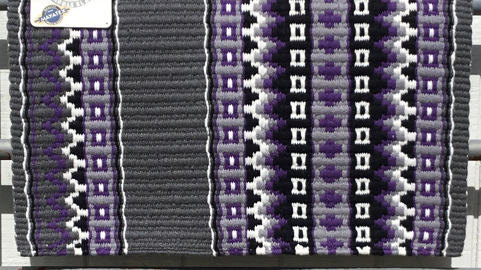 Royal Lilac and Gray Show Blanket