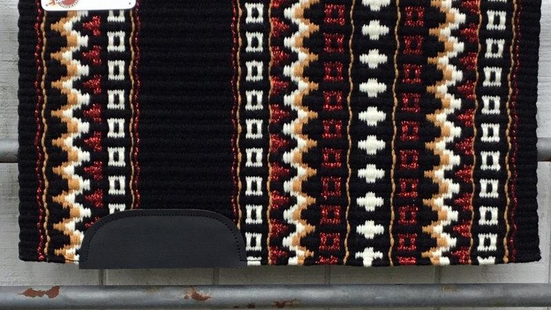 Metallic Red Show Blanket 221113