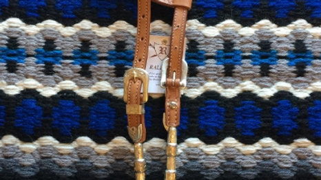 Raleigh Two Ear Show Headstall