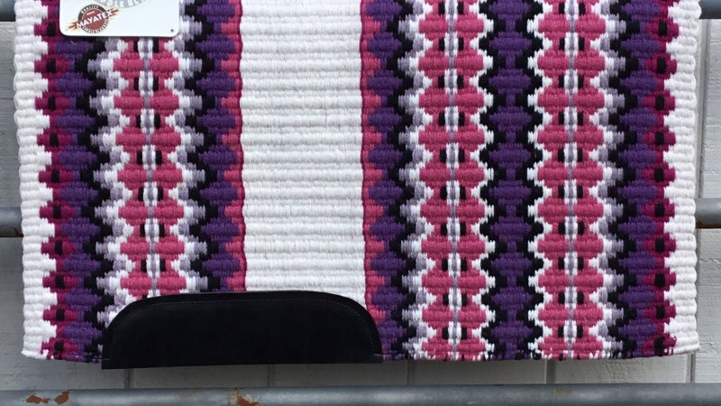 Royal Lilac and Rose Pink Show Blanket 4330