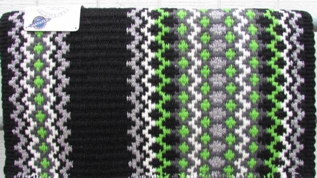 Metallic Lime Green Show Blanket