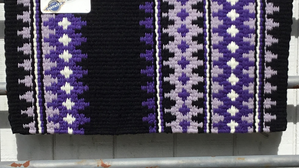 Purple and Lavender Show Blanket
