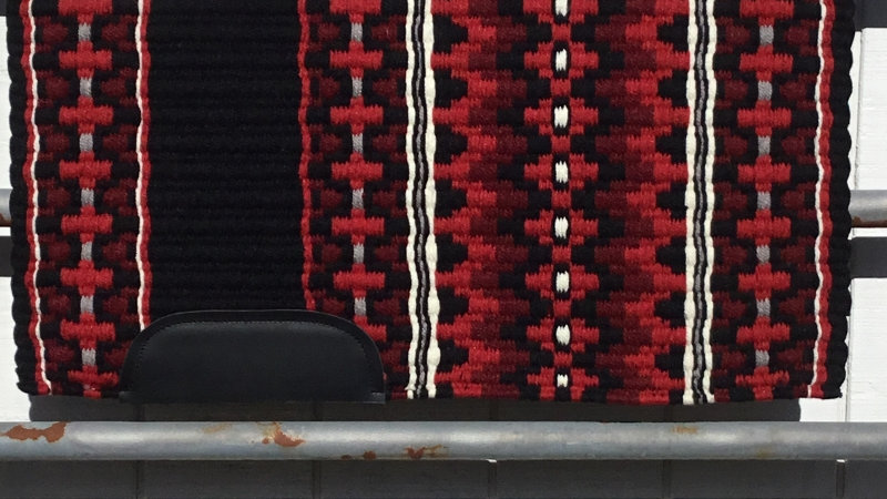 Red and Black Show Blanket 5312