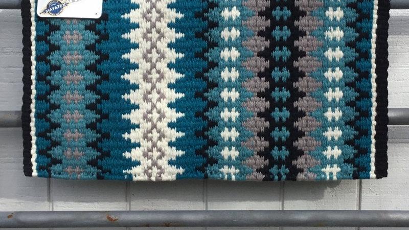 Turquoise Show Blanket