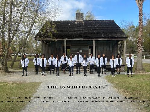 #The15WhiteCoats- 8.5 x 11 Print (Choose One Pose)