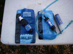 Sawyer Squeeze Filter & MINI Filter