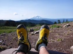 Lone Peak 2.0 with Mt Rainier