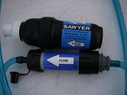 Sawyer MINI vs Sawyer Squeeze Filter