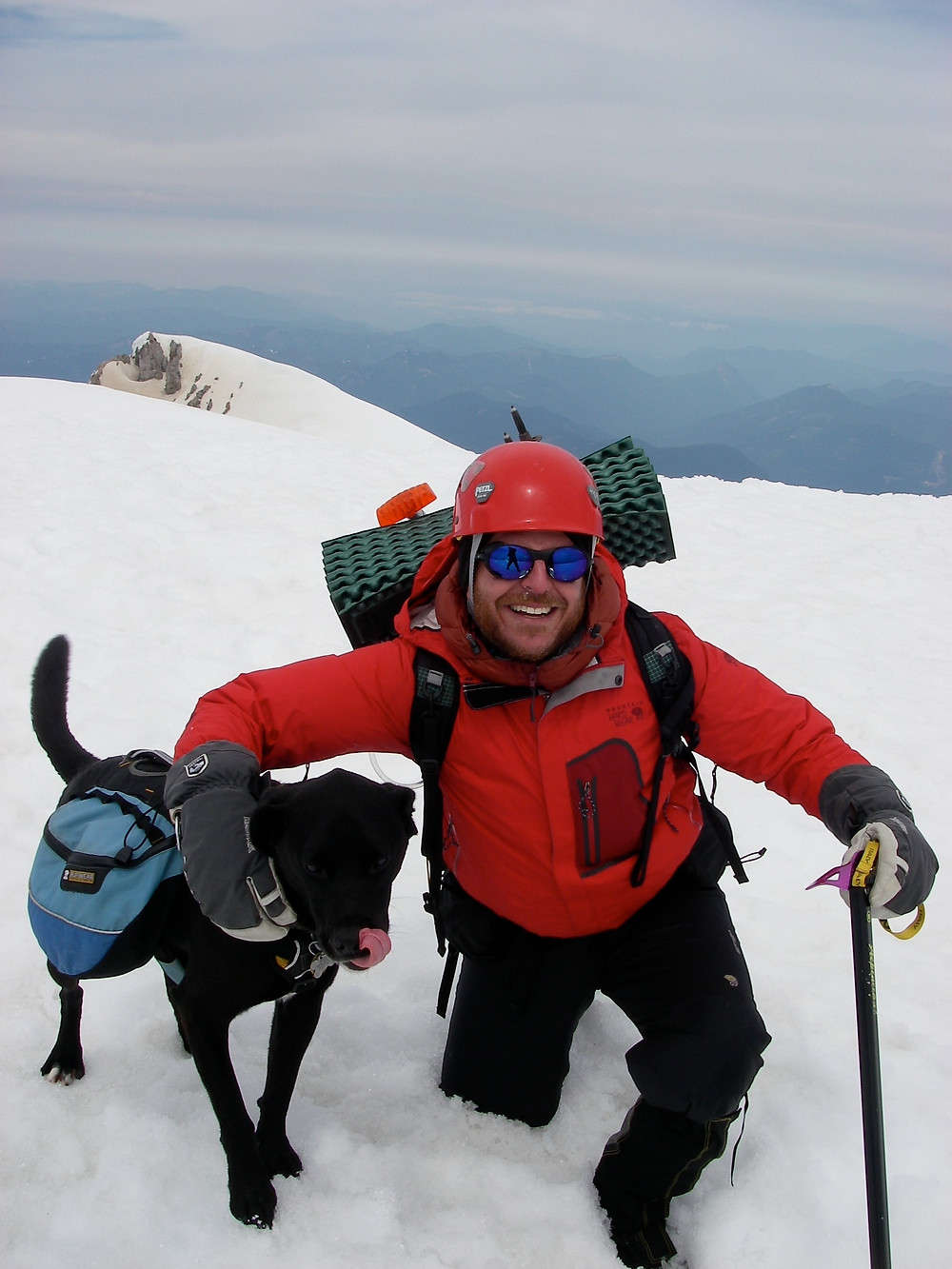 Karluk and Allgood Atop Mt Adams
