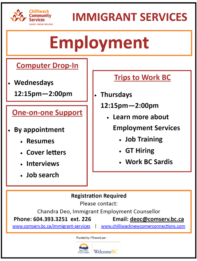Immigrant Employment Services