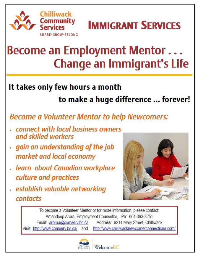 IMMIGRANT EMPLOYMENT INFORMATION