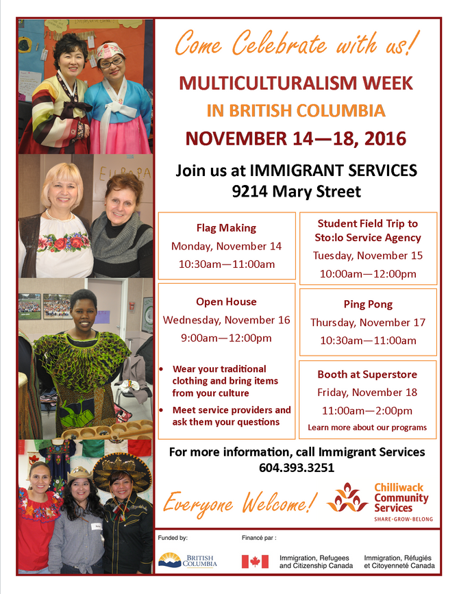 Multiculturalism Week