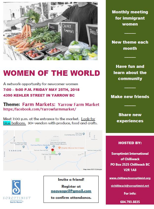 Women of the World- Farm Market