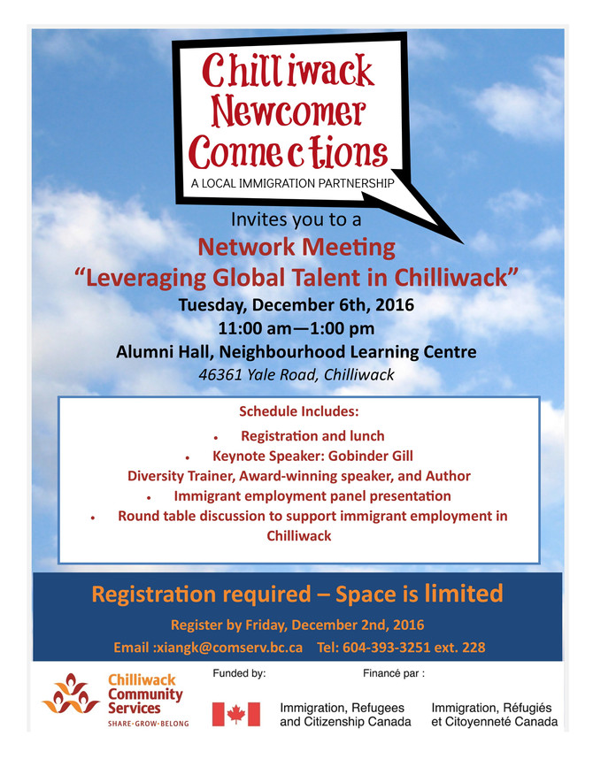 Leveraging Global Talent in Chilliwack