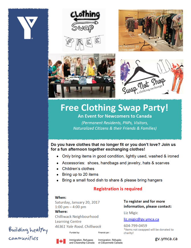 Free Clothing Swap Party!